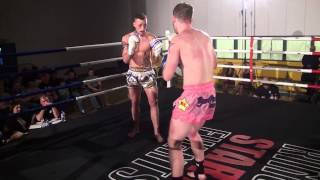 Jordan Williams Vs Matt Reading - HGH - Muay Thai