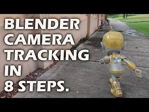 Camera Tracking In Blender In 8 Steps By Bracer Jack