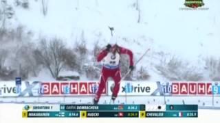 Дарья Домрачева вернулась в большой спорт