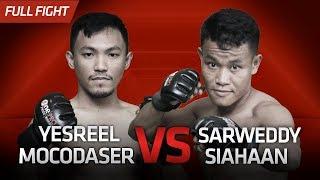 [HD] Yesreel Mocodaser vs Sarweddy Siahaan || One Pride Pro Never Quit #26