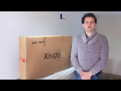 "Installation Video for KRUGG ""ICON 18""x30"""" LED Lighted Wall Mount Vanity Mirror"