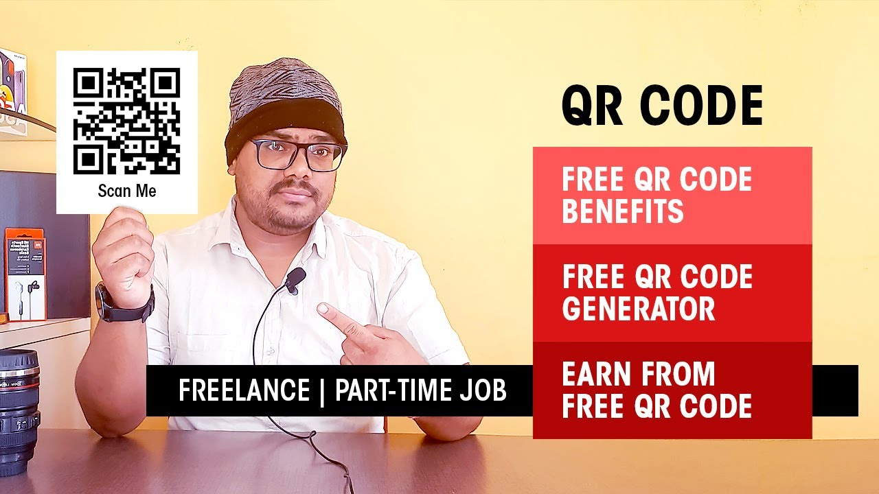 Free #QR Code Generator | #Earn From Free QR Code | #Part-TimeJob | #Freelance | HashTag India