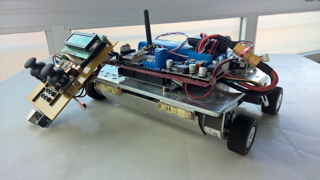Homemade Rc Car With Arduino Mega And Apc220 Youtube