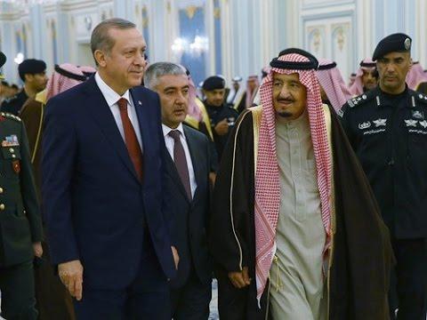Cumhurbaşkanı Erdoğan, Suudi Arabistan Al Yamamah Sarayı'nda
