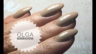 Укрепление ногтей гелем, цветное покрытие💅🏼Как я наношу капризные цвета
