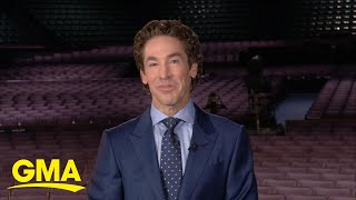 Pastor Joel Osteen shares what it was like to lead Sunday service without an audience | GMA