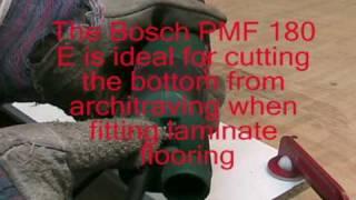 Bosch PMF 180E multi purpose saw and sander