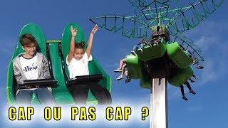 CAP OU PAS CAP chez Spirou : Chute de 90m dans le vide ! ????