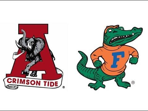1986 #4 Alabama at #13 Florida (Highlights)