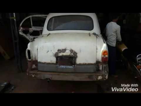 Modification of ambassador car..