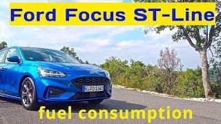 2019 Ford Focus ST- Line, fuel consumption