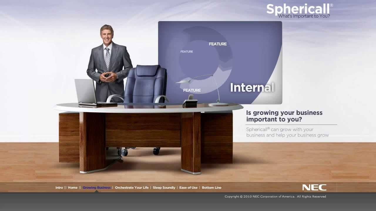 nec univerge sphericall demo business phone system hi country wire and telephone [ 1280 x 720 Pixel ]