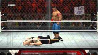 WWE 12 - John Cena VS. Big Show (Steel Cage Match) Submitted by RyanLaFalce