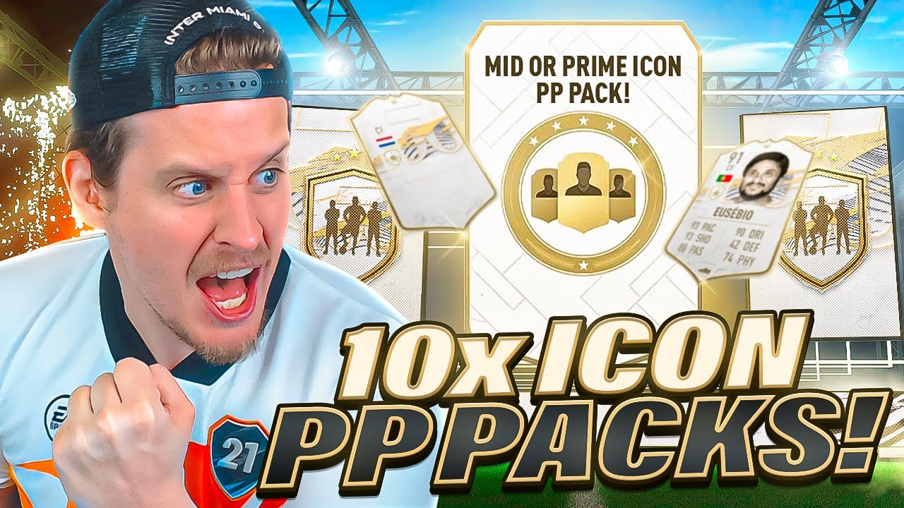 Download THESE ARE INSANE! 10X PRIME OR MID ICON PLAYER PICK PACKS! FIFA 21 Ultimate Team