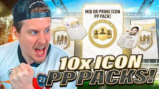 THESE ARE INSANE! 10X PRIME OR MID ICON PLAYER PICK PACKS! FIFA 21 Ultimate Team