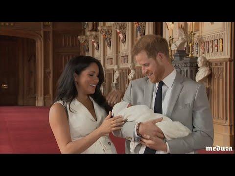 Меган Маркл и принц Гарри показали новорожденного сына
