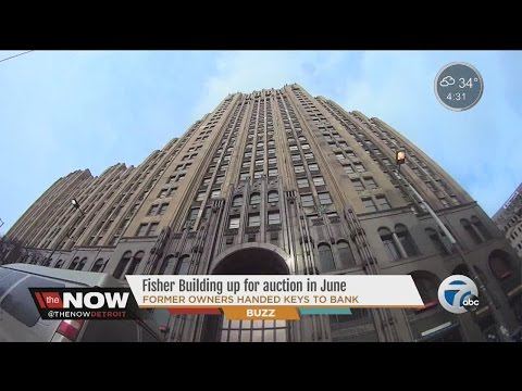 Fisher Building going up for auction in June