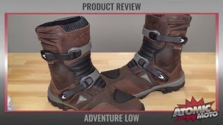 Forma Adventure Low Boots Review by Atomic-Moto
