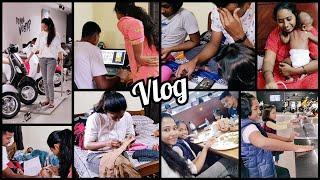 #Vlog | Festival Ke Tirupati Velladaaneke Ma Tensions |My Fav Bike |Pesarappu Recipe |Appy English😀