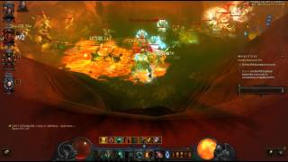 Diablo 3 2.3 HOTA Barb, Grift 70 Group XP speed farming