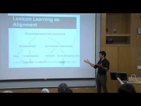 Jayant Krishnamurthy (AI2): Probabilistic Models for Learning a Semantic Parser Lexicon