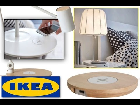ikea wireless charger review youtube. Black Bedroom Furniture Sets. Home Design Ideas