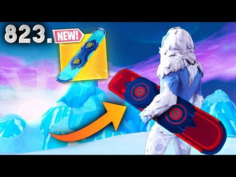 *NEW* DRIFTBOARD COOL TRICKS! - Fortnite Funny WTF Fails and Daily Best Moments Ep. 823