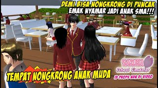 KE TEMPAT TONGKRONGAN DI PUNCAK BARENG EMAK  - ANGKRINGAN PUNCAK - SAKURA SCHOOL SIMULATOR INDONESIA