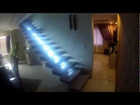Escada Inteligente Led Incrivel Youtube