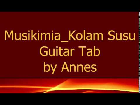 Guitar Tab Kolam Susu Musikimia