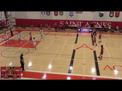 St. Agnes vs. Mounds Park Academy Varsity Mens' Basketball