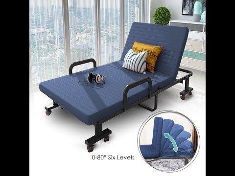 Bigzzia Folding Rollaway Bed