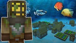 Minecraft Origens #25: EU ENCONTREI UMA CIDADE DEBAIXO D'ÁGUA!