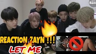 Baixar Zayn - Let Me REACTION || Official BTS