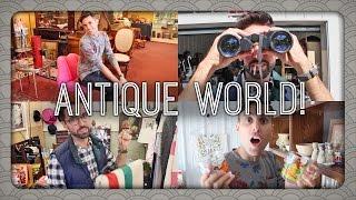 Antiquing at Antique World & Flea Market | Billy & Pat