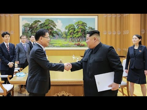 Kim Jong Un and Seoul envoys discuss possible summit