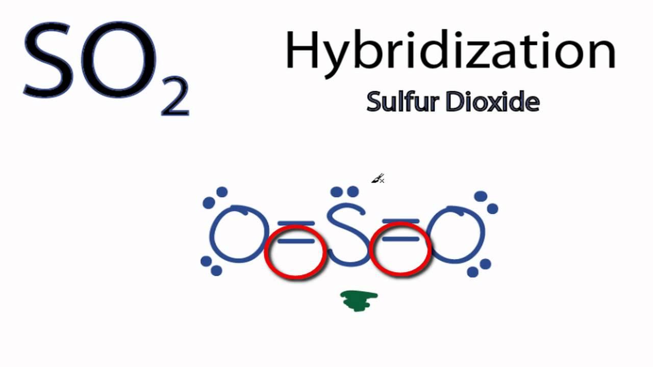 so2 hybridization [ 1280 x 720 Pixel ]