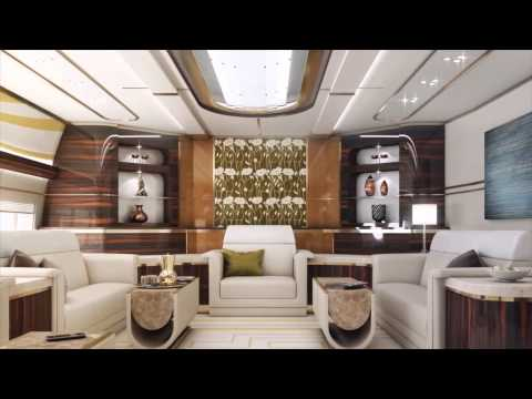Look Inside a $613 Million Private Plane