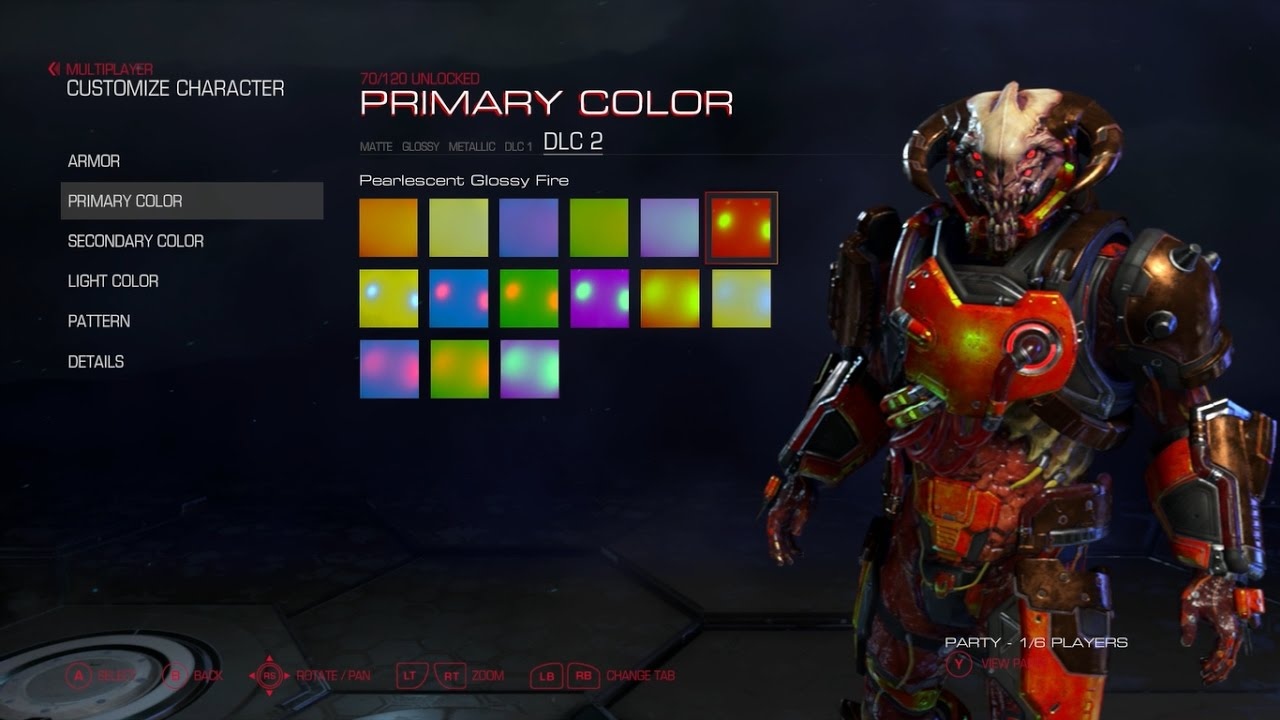 doom hell followed new armor colors patterns and taunts youtube