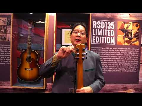 NAMM 2018 - Washburn Guitars - RSD135 Limited Edition Acoustics