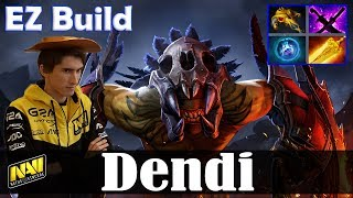 Dendi - Bloodseeker Safelane | EZ Build | Dota 2 Pro MMR  Gameplay