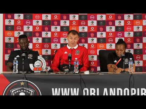 Orlando Pirates Soweto derby post-match presser