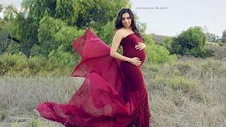 Pregnancy Photoshoot in California Fields by Ana Brandt