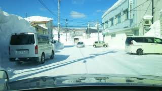 324センチ!!幌加内町、北海道最深積雪記録(2018年2月26日)翌日の様子。