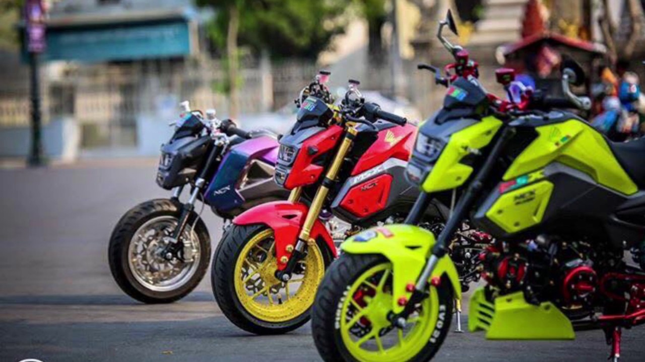 honda grom modifications top speed