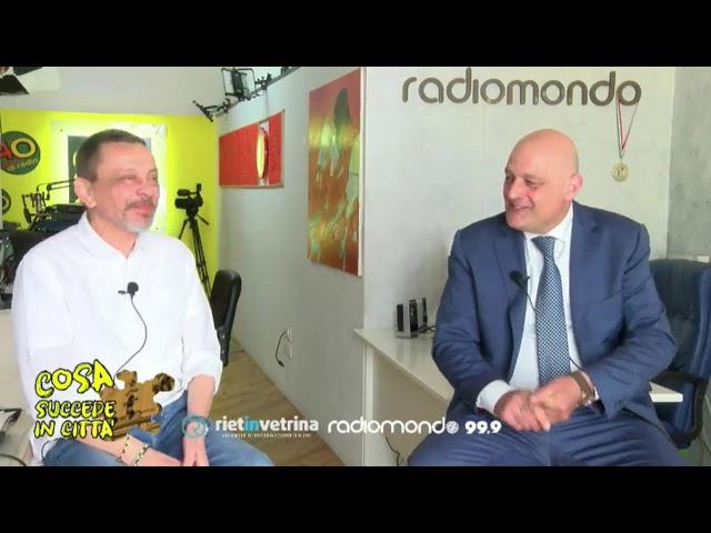 COSA SUCCEDE IN CITTA - Rubrica settimanale con Claudio Valentini assessore del Comune di Rieti