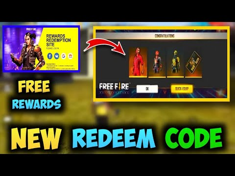 Free Fire New Redeem Code Today 2020 Ff Rewards Redemption Free Fire New Code Youtube