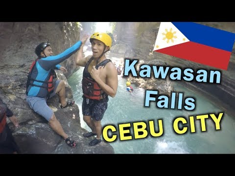 KAWASAN FALLS CANYONEERING CEBU CITY PHILIPPINES    PHILIPPINES TRAVEL VLOG