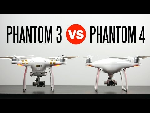 DJI Phantom 4 vs DJI Phantom 3 Professional