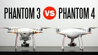 DJI Phantom 4 vs DJI Phantom 3 Professional